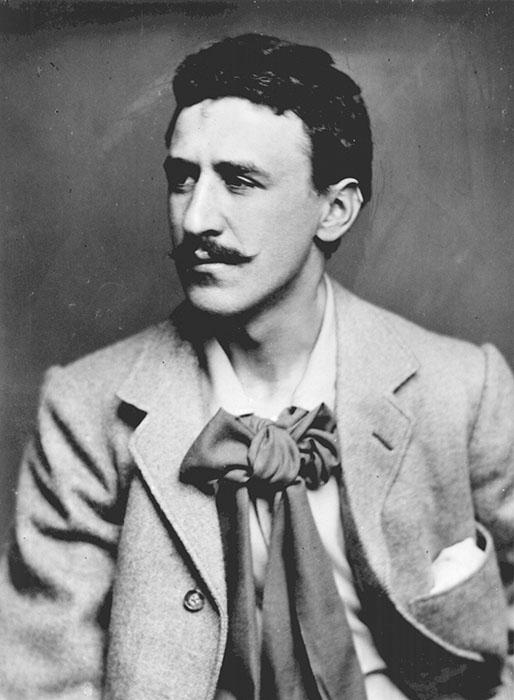 Portrait of Charles Rennie Mackintosh