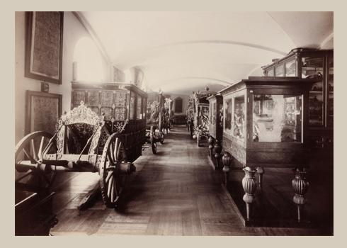 "Photograph ""The Carriages hall of the Armoury Chamber"""