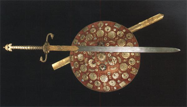 State sword and shield