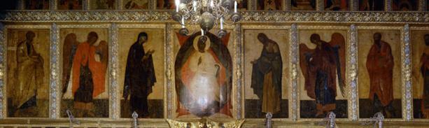Деисусный чин Благовещенского собора