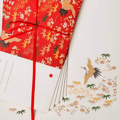 Set of envelopes and cards